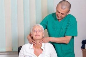 Schilddrüsenuntersuchung